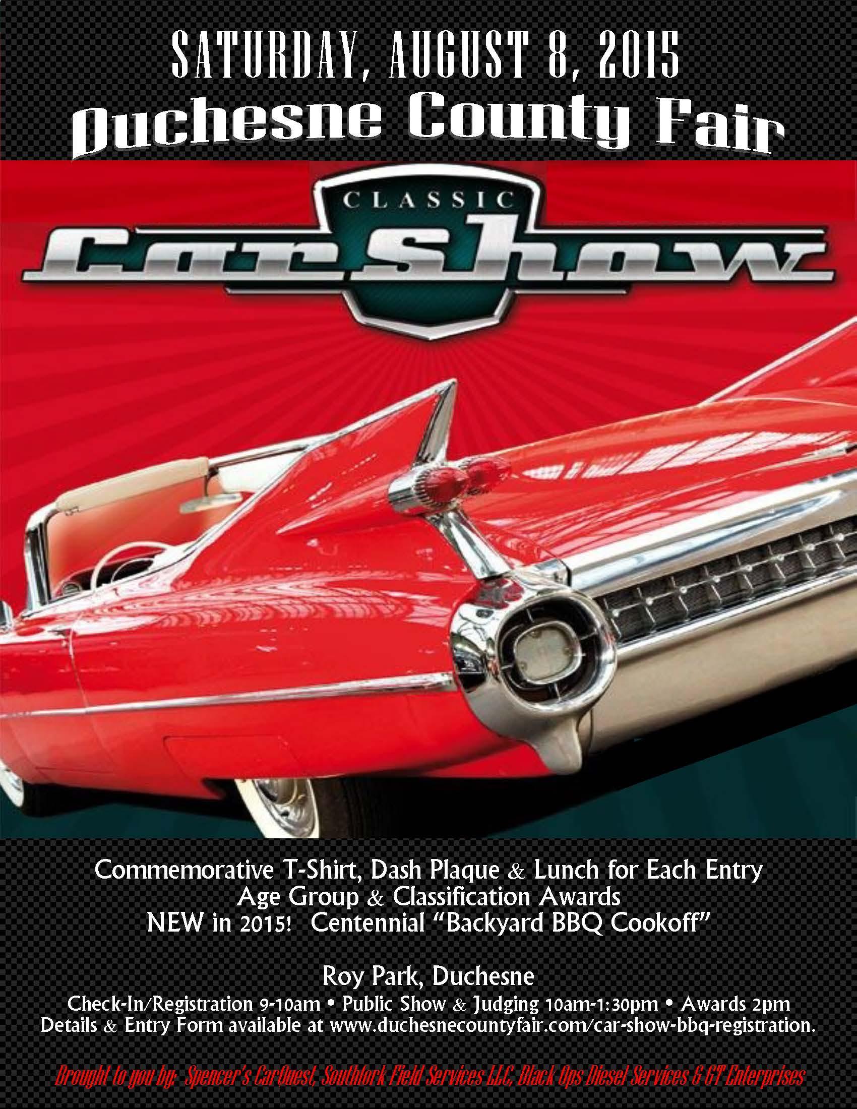 Car Show Poster 2015