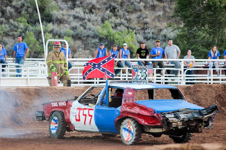 Duchesne Country Fair Demolition Derby