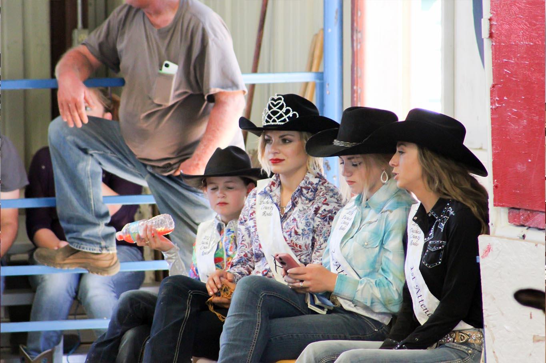 Duchesne Country Fair Rodeo Queens